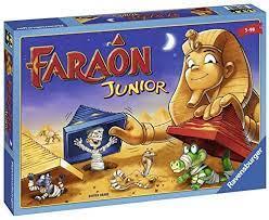 Ravensburger 21447 Faraon Junior, Juego Familiar, Edad Recomendada 5+, 2-4  Jugadores: Amazon.es: Juguetes y juegos